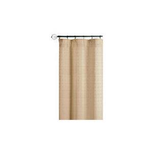 Photo of Tesco Mosaic Jacquard Lined Pencil Pleat Curtains, Cream 112X 183CM Curtain
