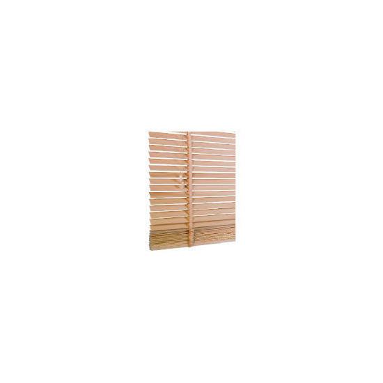 Wood Venetian Blind, Natural 90cm