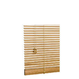 Wood Venetian Blind, Natural 90cm Reviews