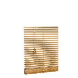 Wood Venetian Blind, Natural 90cm Reviews