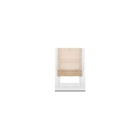 Fabric Roman Blind, Taupe 60cm