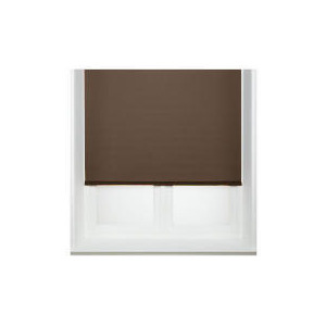 Photo of Thermal Blackout Blind, Chocolate 120CM Curtain