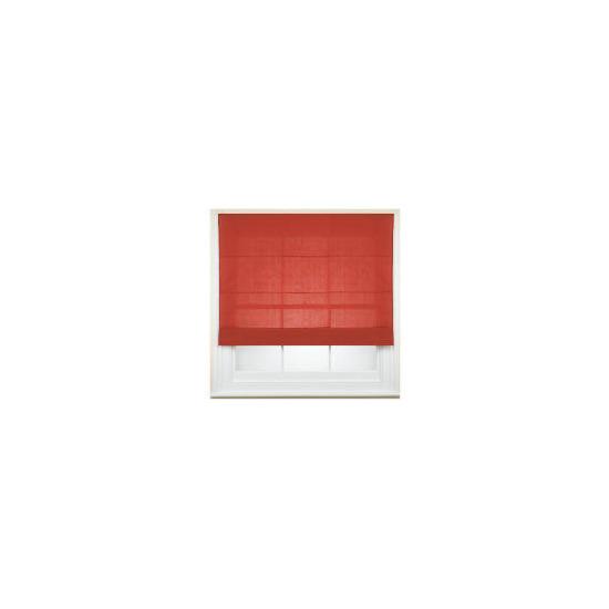 Fabric Roman Blind, Berry 120cm