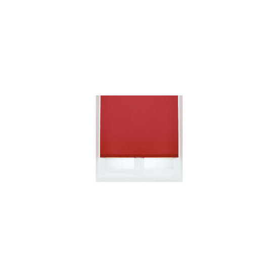 Thermal Blackout Blind, Red 60cm