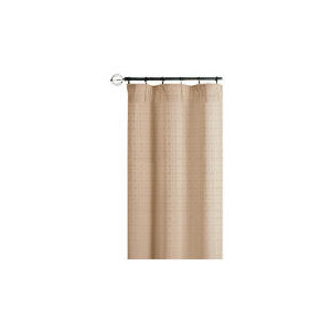 Photo of Mosaic Jacquard Lined Pencil Pleat Curtainss, Cream 168X137CM Curtain