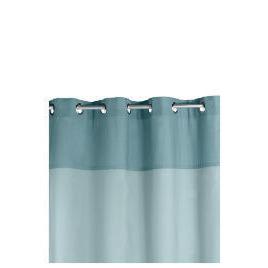 Two Tone Panama Eyelet Curtainss, Sky 168x137cm Reviews