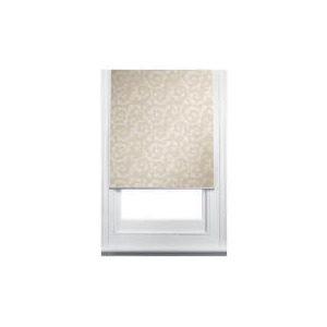 Photo of Scroll Printed Roller Blind, 90CM Curtain