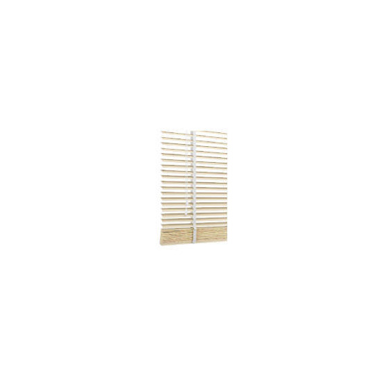 Wood Venetian Blind, Chalk 90cm