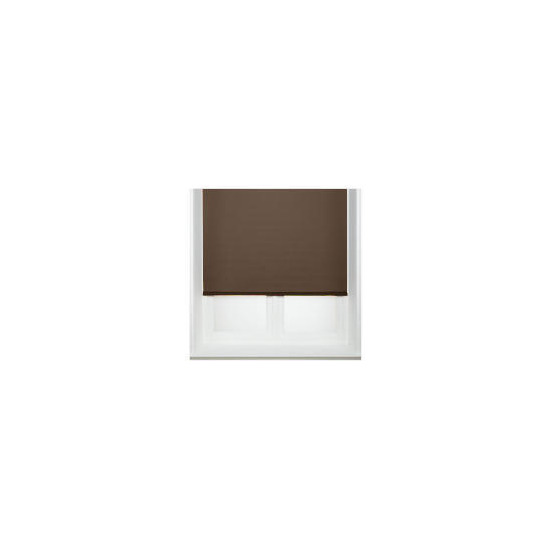 Thermal Blackout Blind, Chocolate 60cm