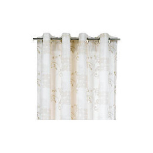 Photo of Tesco Ornate Square Unlined Eyelet 168X229CM Curtain