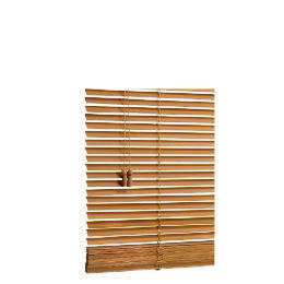 Wood Venetian Blind, Oak Effect 120cm Reviews