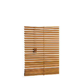 Wood Venetian Blind, Oak Effect 120cm Reviews