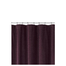 Chenille Lined Pencil Pleat Curtainss, Fig 163x137cm Reviews