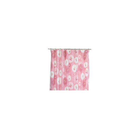 Kids' Fairy Circles Curtains - Pink