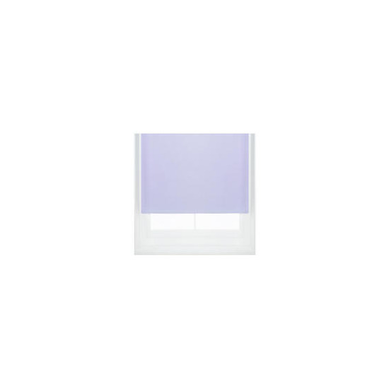 Thermal Blackout Blind, Lilac 90cm