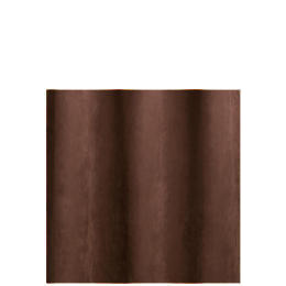 Faux Suede Unlined Eyelet Curtainss, Chocolate 168x229cm Reviews