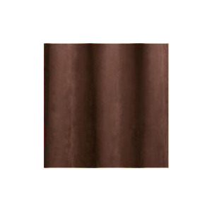 Photo of Faux Suede Unlined Eyelet Curtainss, Chocolate 168X229CM Curtain