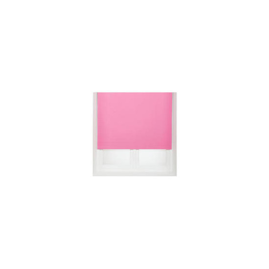 Thermal Blackout Blind, Pink 120cm