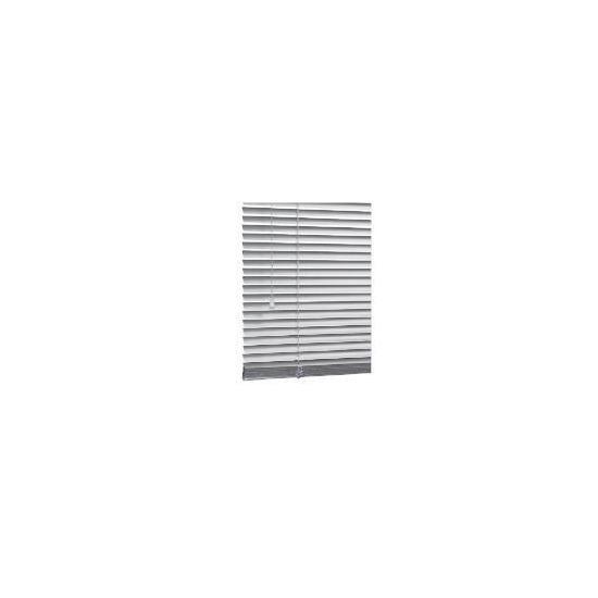Aluminium Venetian Blind, Silver 120cm