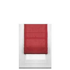 Fabric Roman Blind, Berry 140cm Reviews