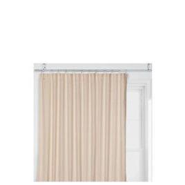 Tesco Linen Effect Unlined Pencil Pleat Curtains, Natural 117x183cm Reviews