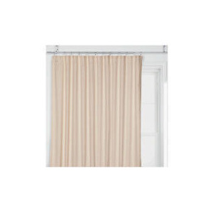 Photo of Tesco Linen Effect Unlined Pencil Pleat Curtains, Natural 117X183CM Curtain