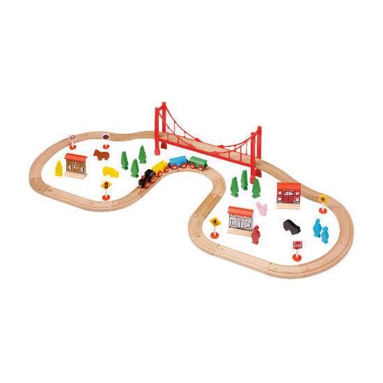 Tesco 56 Piece Train Set