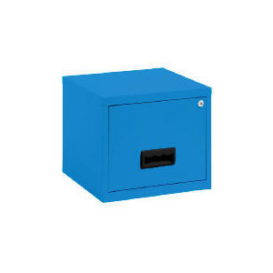 Photo of 1 Drawer Silver Filing Cabinet Maxi Office Furniture