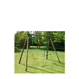Lucille Wooden Swing And Glider Set Reviews