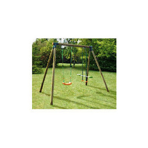 Photo of Lucille Wooden Swing and Glider Set Toy