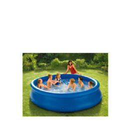 Tesco 12Ft Quick Up Pool (Inc Pump & Cover) Reviews