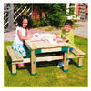 Photo of TP Forest Deluxe Picnic Table Sandpit Toy