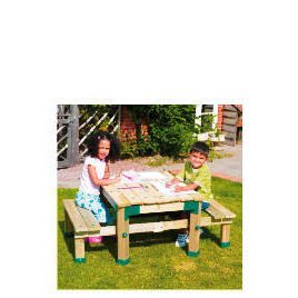 Tp Forest Deluxe Picnic Table Sandpit Reviews