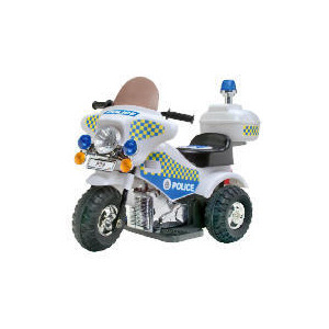 Photo of Police 6V Battery Operated Bike Toy