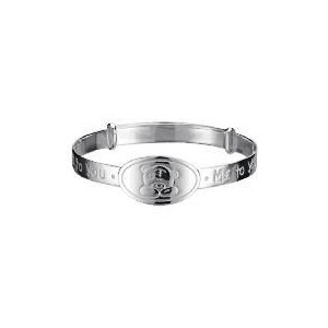 Photo of Me To YOU Silver Expanding Bangle Jewellery Woman