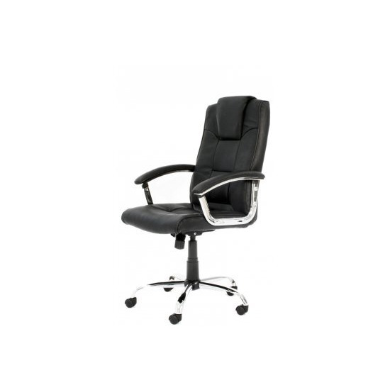 Alphason Black High Back Leather Executive Chair