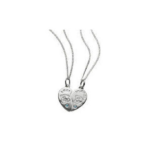 Photo of Me To YOU Silver Best Friends Pendants Jewellery Woman