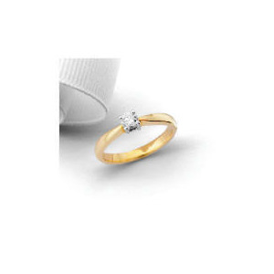 Photo of 9CT 1/4 Carat Diamond Ring L Jewellery Woman