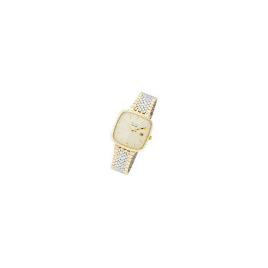Artemis Mens Gold Plated Watch