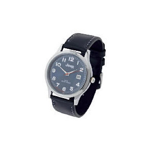 Photo of Jeep Mens Black Strap Watch Watches Man