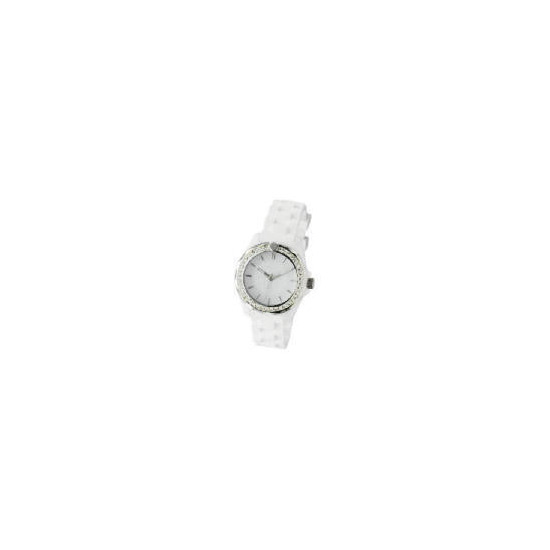 Kookai Ladies White Resin Watch
