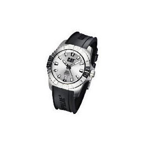 Photo of CAT  Active One 3 Hand Date White Dial Black Rubber Strap Watch Watches Woman