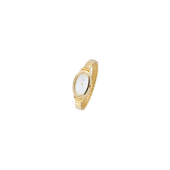 Limit Ladies Gold Plated Expander Watch