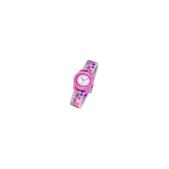 Timex pink flower motion dial