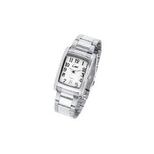Photo of Limit Mens Rectangular Date Silver Bracelet Watch Watches Man