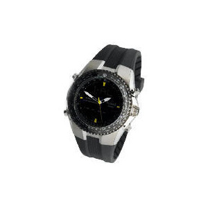 Photo of Pulsar Mens Ana-Digi Chrono/Tachy Resin Strap Watch Watches Man