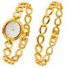 Photo of Limit White Dial Gold Plated Watch & Bracelet Set Watches Woman