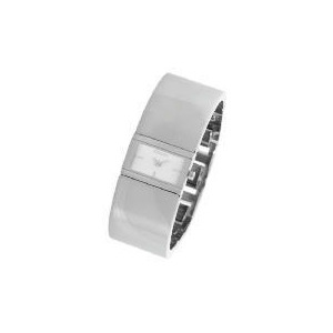 Photo of DKNY Ladies Silver Dial Bangle Watch Watches Woman