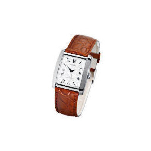 Photo of Pulsar Mens Brown Leather Strap Watch Watches Man