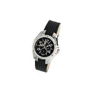 Photo of Pulsar Mens Multi Black Dial Leather Strap Watch Watches Man